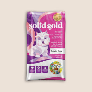Solid Gold Dry Dog Food Solid Gold Wee Bit - Bison, Brown Rice & Pearled Barley Recipe