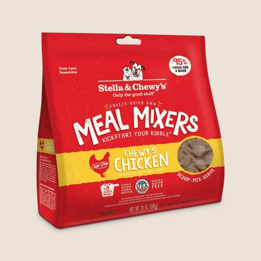 Stella & Chewy's Raw Dog Food Stella & Chewy's Chewy's Chicken Freeze-Dried Meal Mixers