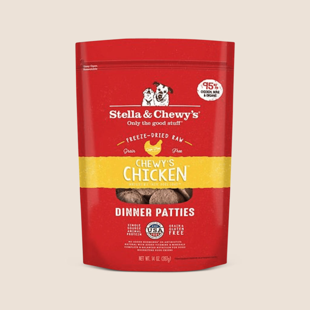 Stella & Chewy's Raw Dog Food Stella & Chewy's Chicken - Freeze Dried Patties