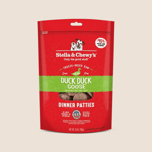 Stella & Chewy's Raw Dog Food Stella & Chewy's Duck Duck Goose - Freeze Dried Patties