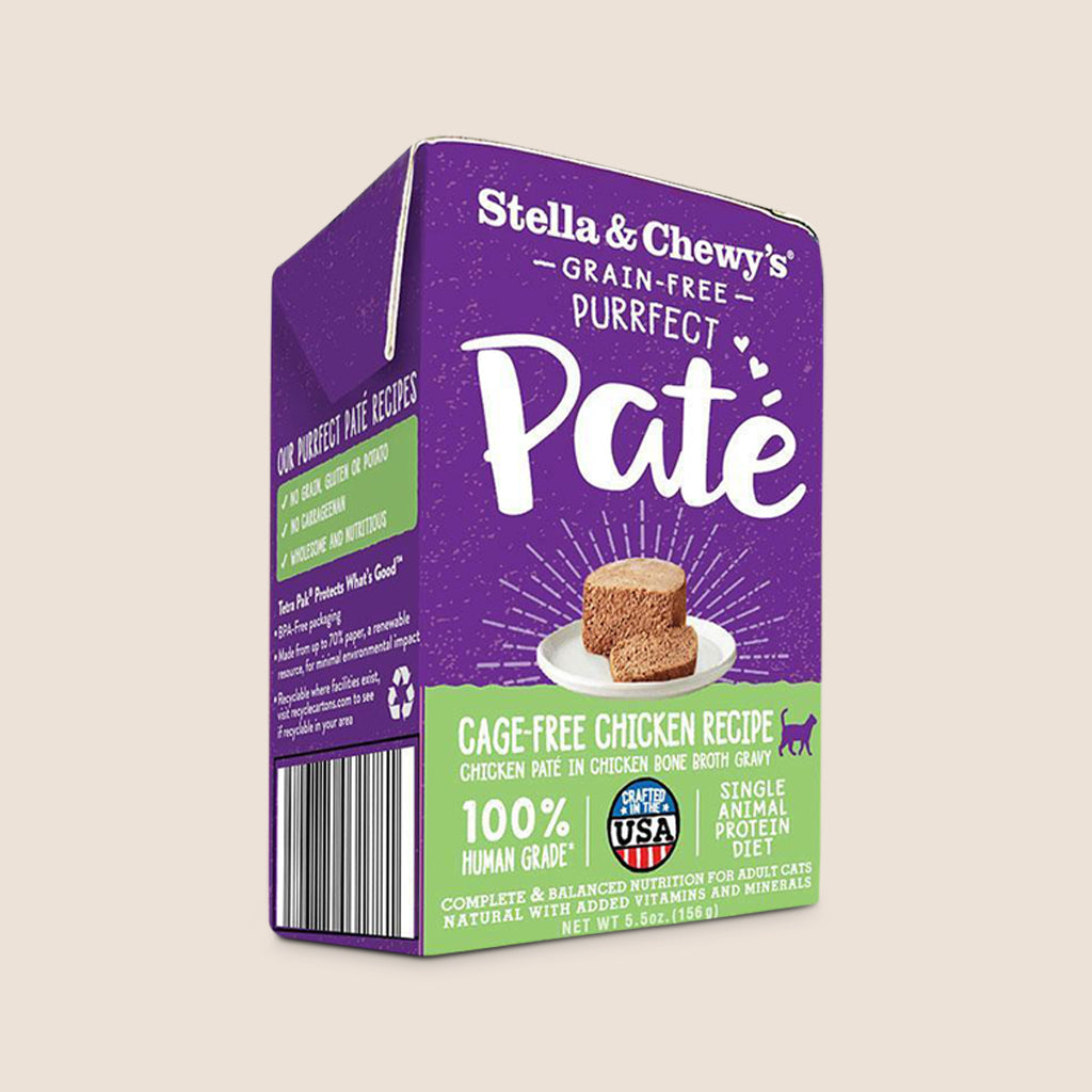 Stella & Chewy's Cat Food Can Stella & Chewy's Purrfect Cat Pate Chicken 5.5 oz - Case of 12
