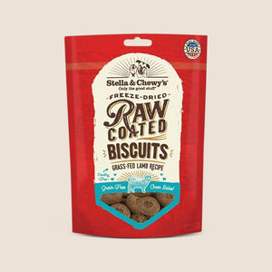 Stella & Chewy's Treats Stella & Chewy's Raw Coated Lamb Biscuits