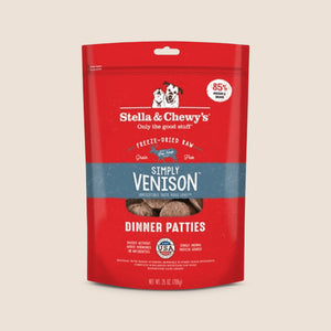 Stella & Chewy's Raw Dog Food Stella & Chewy's Simply Venison - Freeze-Dried Patties