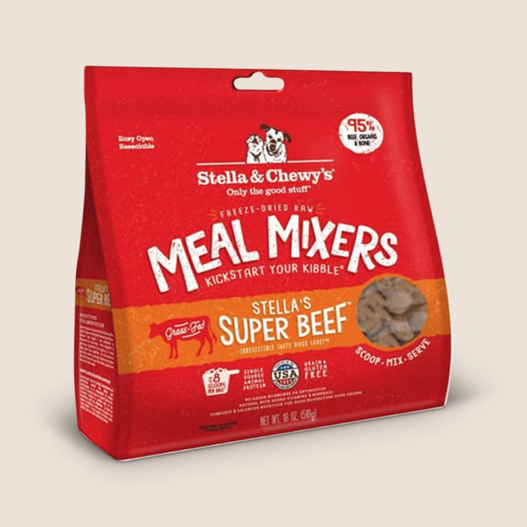Stella & Chewy's Raw Dog Food Stella & Chewy's Super Beef Freeze-Dried Meal Mixers