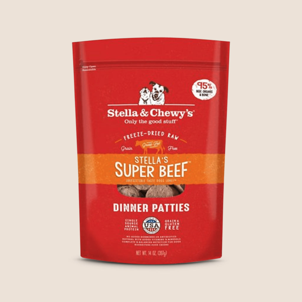 Stella & Chewy's Raw Dog Food Stella & Chewy's Super Beef - Freeze Dried Patties