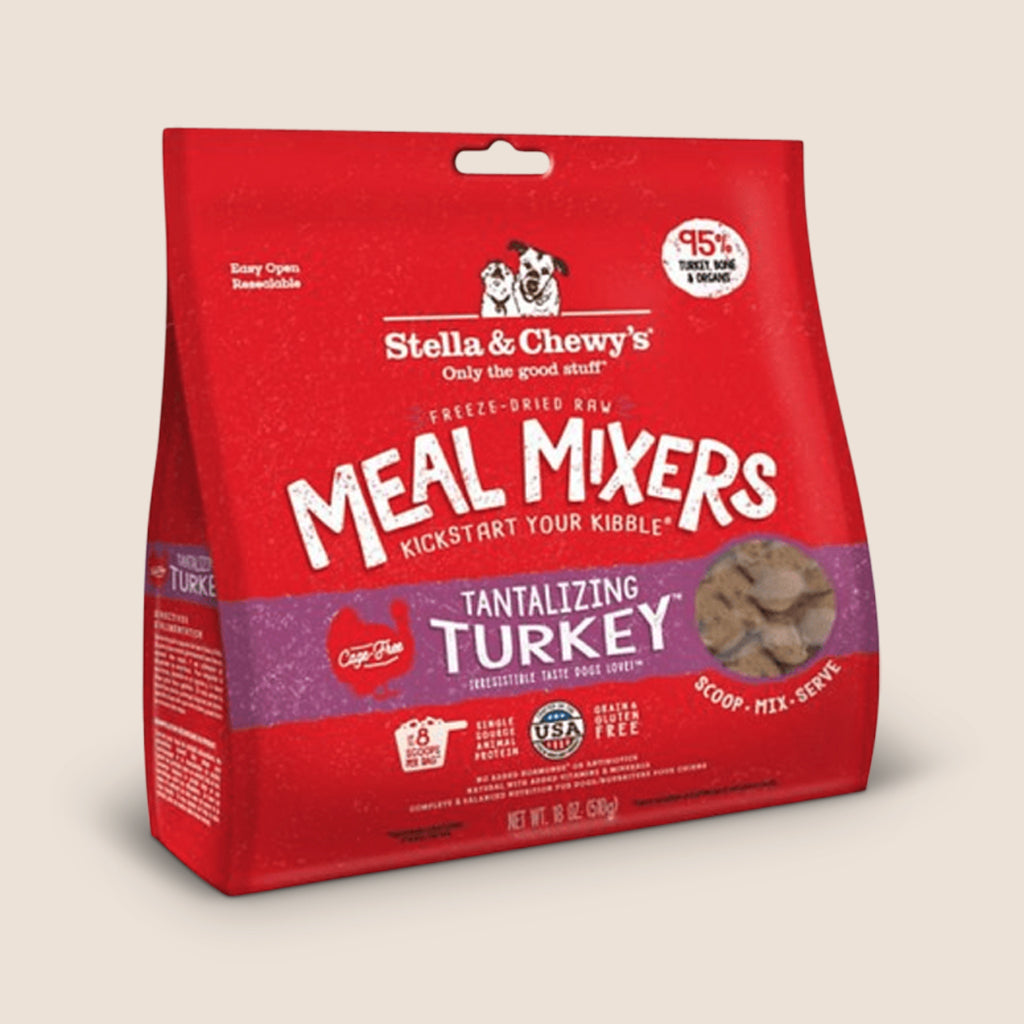 Stella & Chewy's Raw Dog Food Stella & Chewy's Tantalizing Turkey Freeze-Dried Meal Mixers
