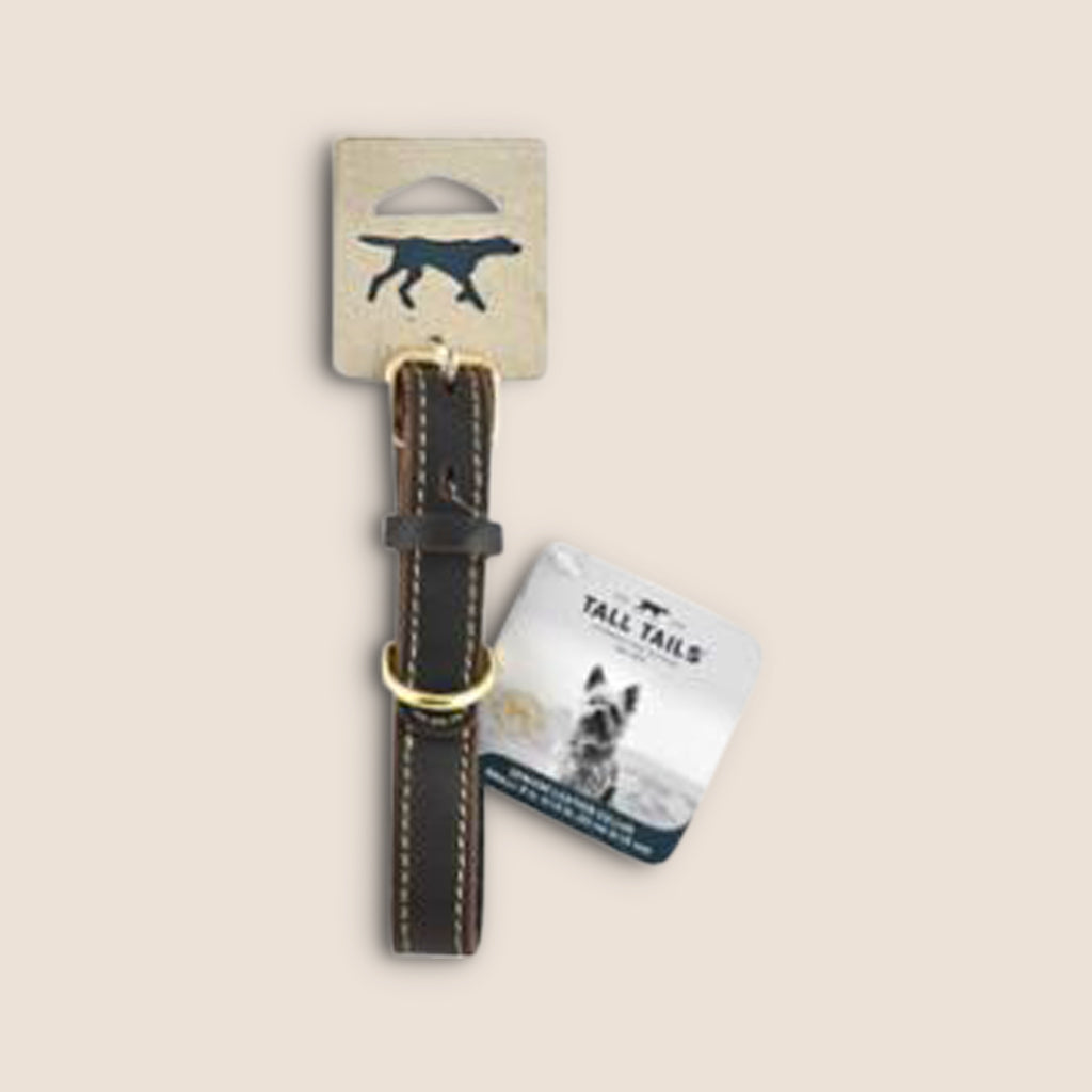 Tall Tails Accessories Tall Tails Genuine Leather Dog Collar