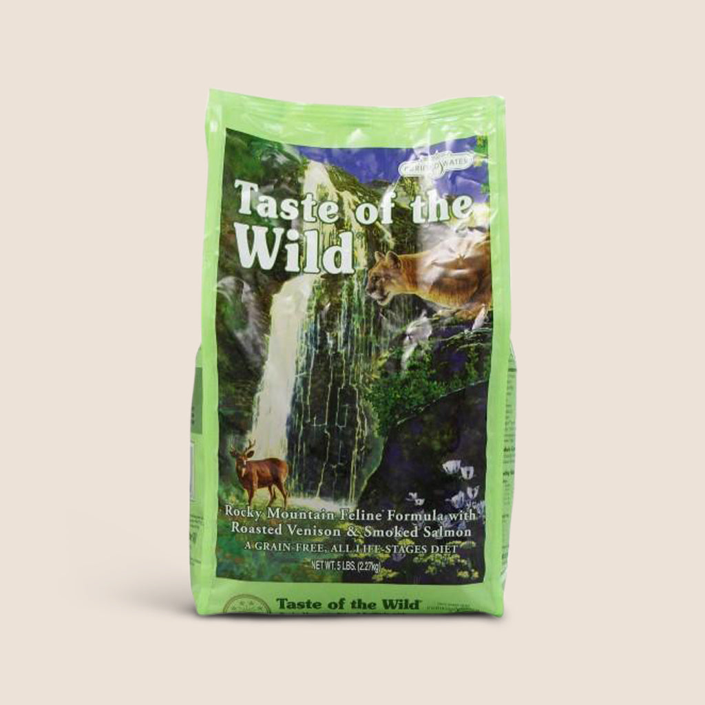 Taste of the Wild Dry Cat Food Taste of The Wild Rocky Mountain Grain Free Cat Food