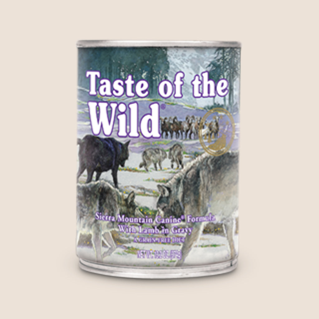 Taste of the Wild Canned Dog Food Taste of the Wild - Sierra Mountain - Roasted Lamb