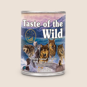 Taste of the Wild Canned Dog Food Taste of the Wild - Wetlands - Roasted Fowl