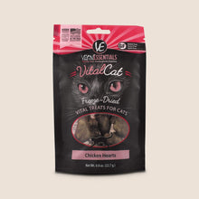 Load image into Gallery viewer, Vital Essentials Treats Chicken Hearts 0.8 oz Vital Essentials Freeze-Dried Cat Treats