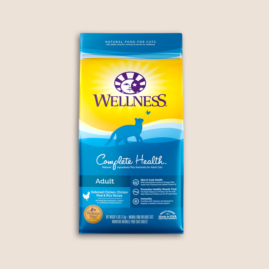 Wellness Dry Cat Food Wellness Complete Health Chicken Adult Cat Food - 6 Pound Bag
