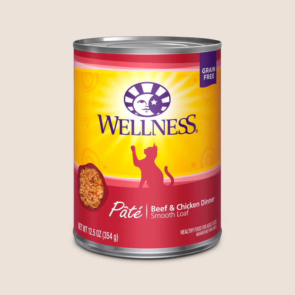 Wellness Cat Food Can Wellness Complete Health - Beef & Chicken - Grain Free Cat Food