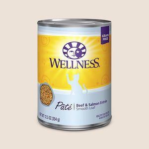 Wellness Cat Food Can Wellness Complete Health - Beef & Salmon - Grain Free Cat Food