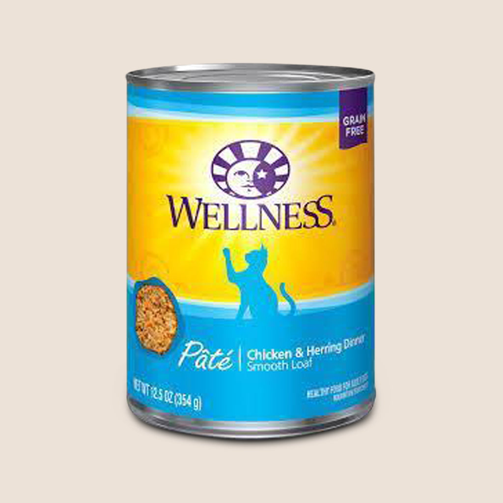 Wellness Cat Food Can Wellness Complete Health - Chicken & Herring - Grain-Free Cat Food