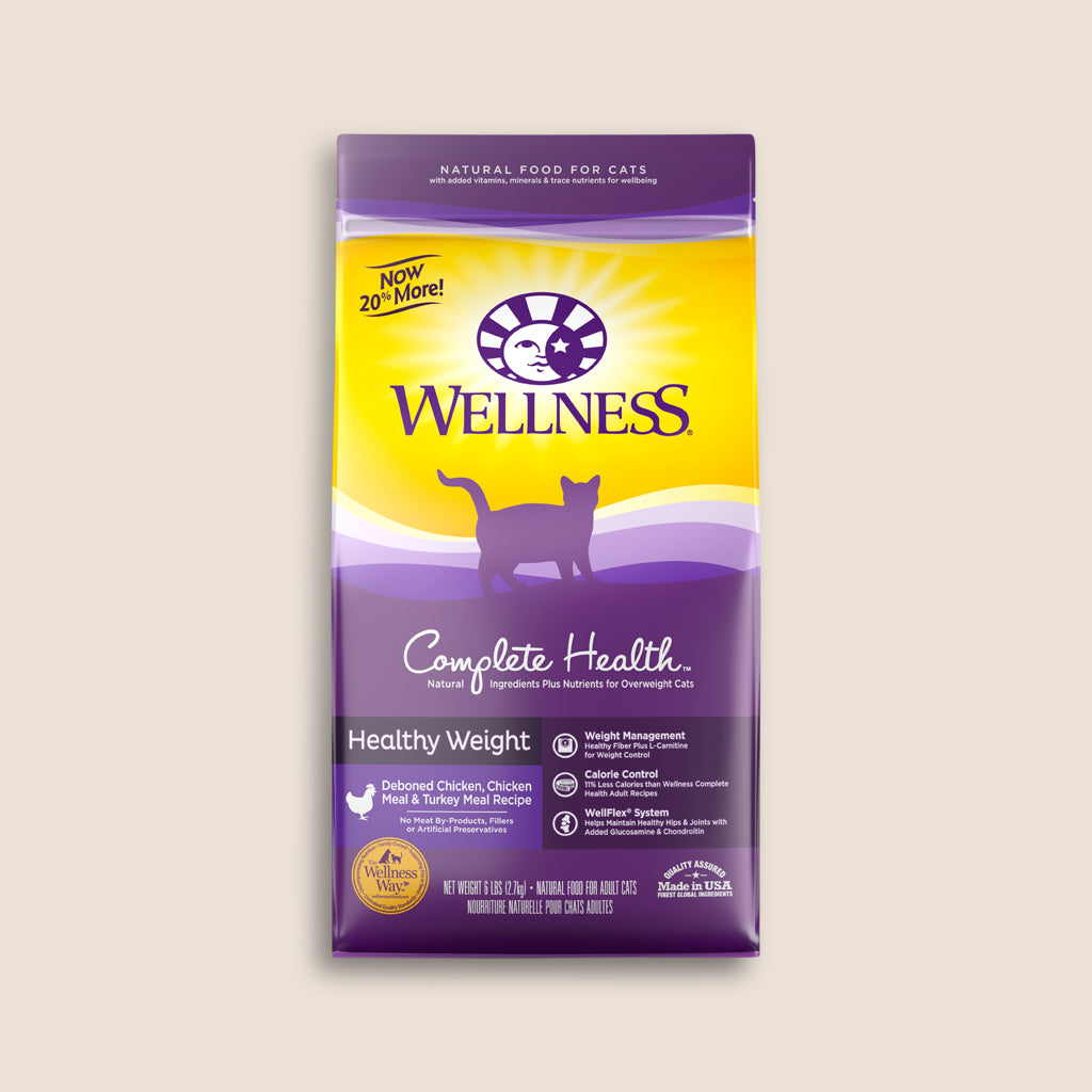 Wellness Dry Cat Food Wellness Complete Health Healthy Weight - 6 Pound Bag