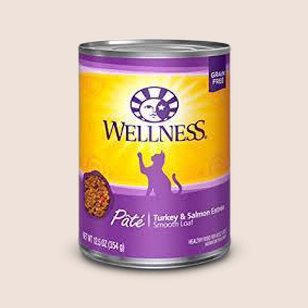 Wellness Cat Food Can Wellness Complete Health - Turkey & Salmon - Grain-Free Cat Food
