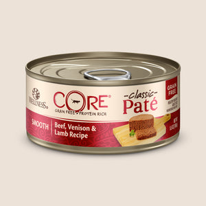 Wellness Cat Food Can Wellness CORE - Beef, Venison & Lamb - Grain Free Cat Food 5.5 Ounce Can