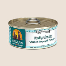 Load image into Gallery viewer, Weruva Canned Dog Food Weruva Funky Chunky Chicken Soup with Pumpkin Grain-Free Canned Dog Food