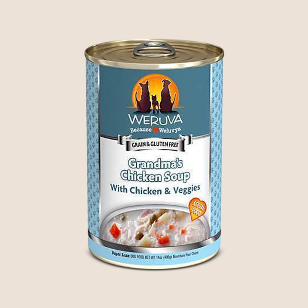 Weruva Canned Dog Food Weruva Grandma's Chicken Soup with Chicken & Veggies Grain-Free Canned Dog Food