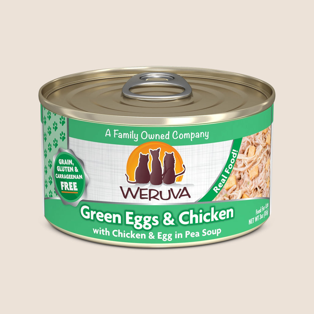 Weruva Cat Food Can Weruva Green Eggs & Chicken Grain-Free Canned Cat Food