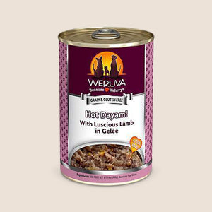 Weruva Canned Dog Food Weruva Hot Dayam with Luscious Lamb in Gelée Grain-Free Canned Dog Food