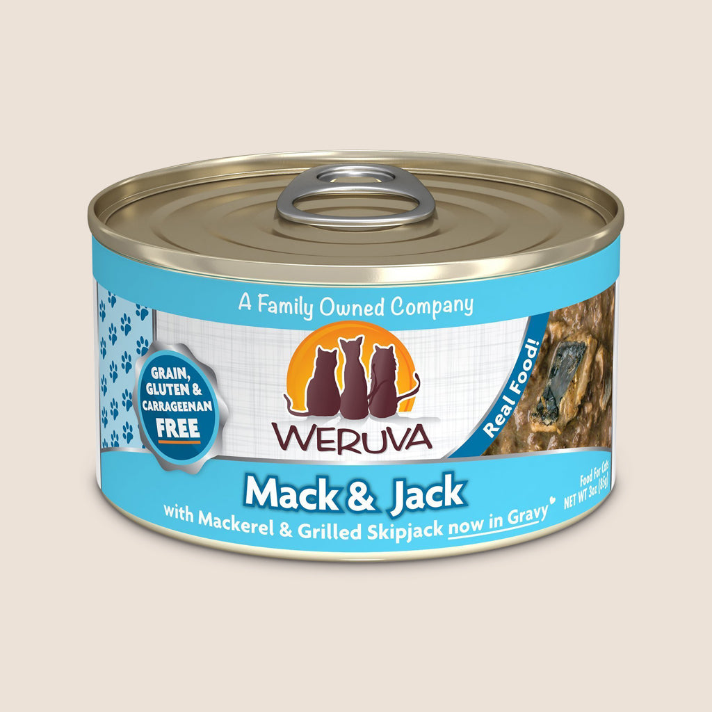Weruva Cat Food Can Weruva Mack & Jack Grain-Free Canned Cat Food