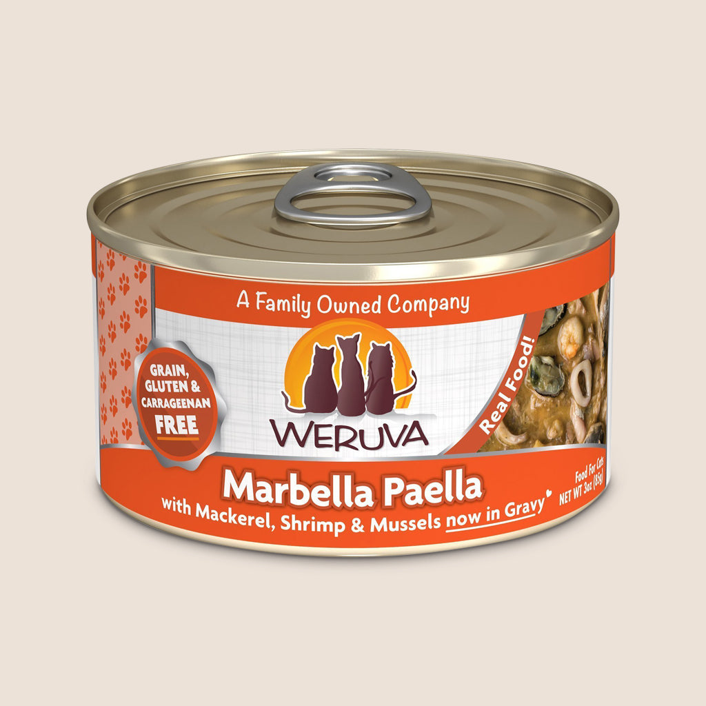 Weruva Cat Food Can Weruva Marbella Paella Grain-Free Canned Cat Food