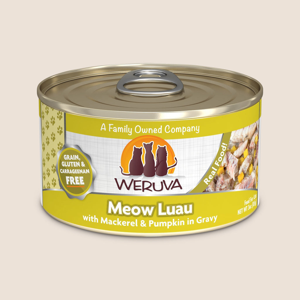 Weruva Cat Food Can Weruva Meow Luau Grain-Free Canned Cat Food