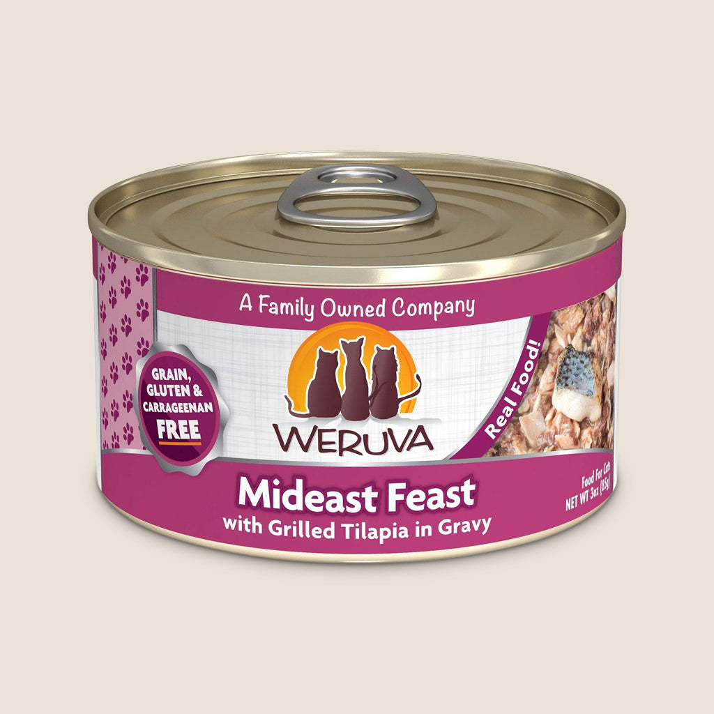 Weruva Cat Food Can Weruva Mideast Feast Grain-Free Canned Cat Food