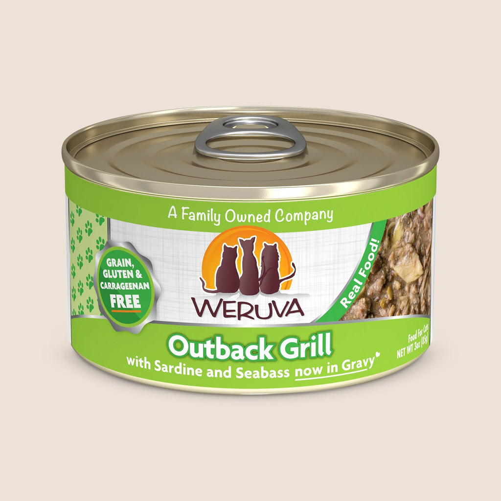 Weruva Cat Food Can Weruva Outback Grill Grain-Free Canned Cat Food