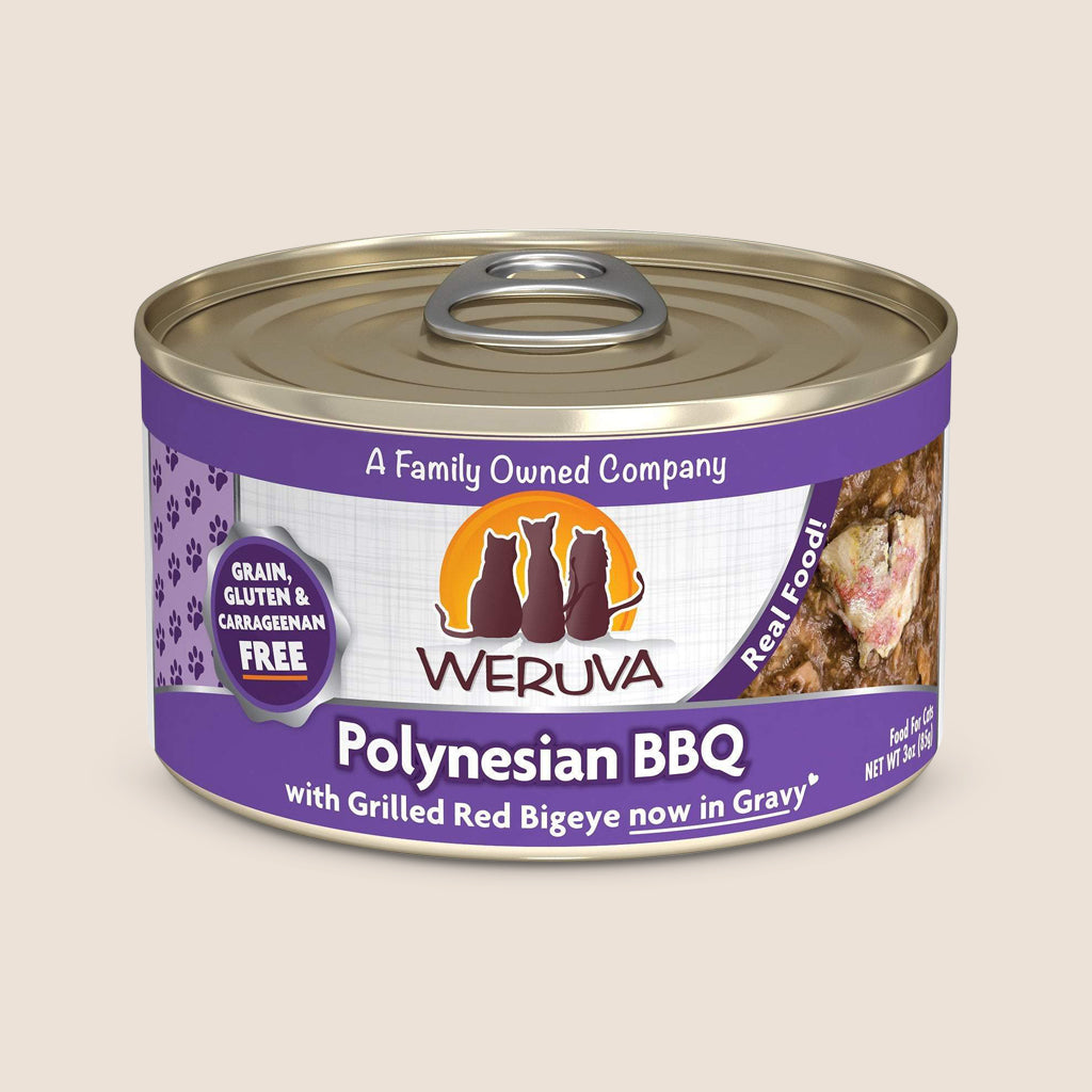 Weruva Cat Food Can Weruva Polynesian BBQ Grain-Free Canned Cat Food