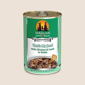 Weruva Canned Dog Food Weruva That's My Jam with Chicken and Lamb in Gelée Grain-Free Canned Dog Food