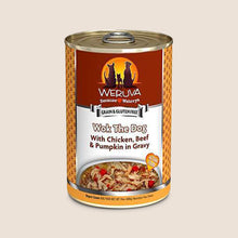 Load image into Gallery viewer, Weruva Canned Dog Food Weruva Wok the Dog with Chicken, Beef & Pumpkin in Gravy Grain-Free Canned Dog Food