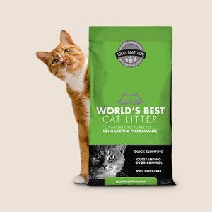 World's Best Cat Litter World's Best Cat Litter Clumping Formula