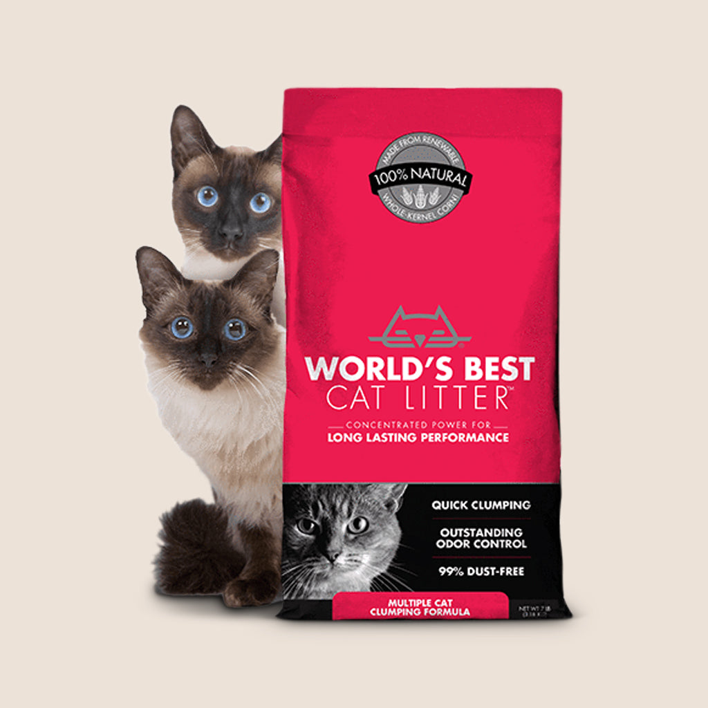 World's Best Cat Litter World's Best Cat Litter Scoopable Multiple Cat Clumping Formula