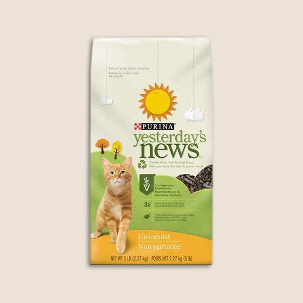 Purina Cat Litter Yesterday's News Cat Litter 15lb