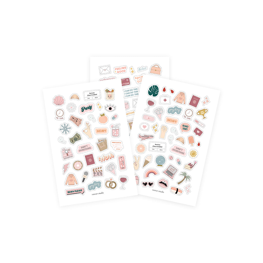 Kit: My Dream Planner 2021 + Stickers