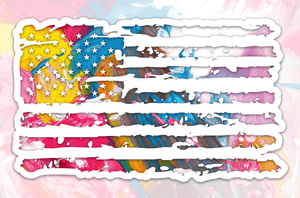 Patriotic Pack // Worn Flag :: Wrap Design Elements