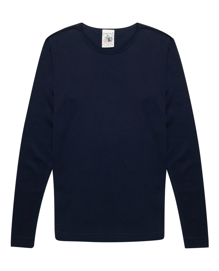 RITE crew neck<br>invariant blue