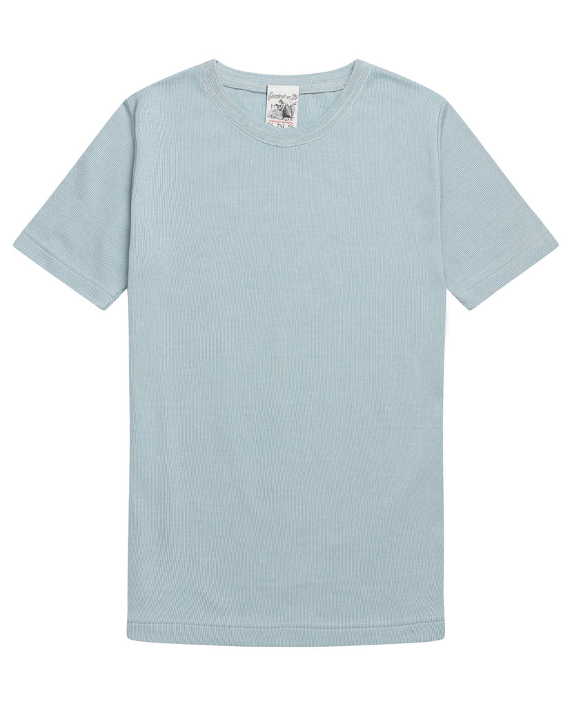 RITE t-shirt<br>light blue moiré