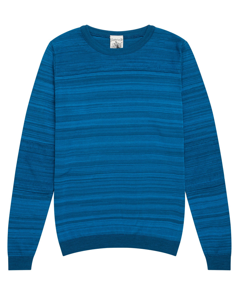 INITIAT0R crew neck<br>electric blue