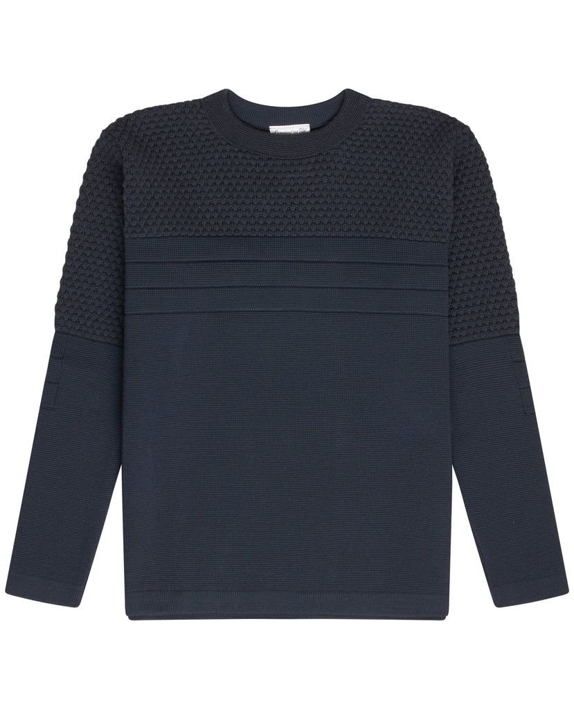 MEDIATOR crew neck | rund hals<br>mental blue (M)
