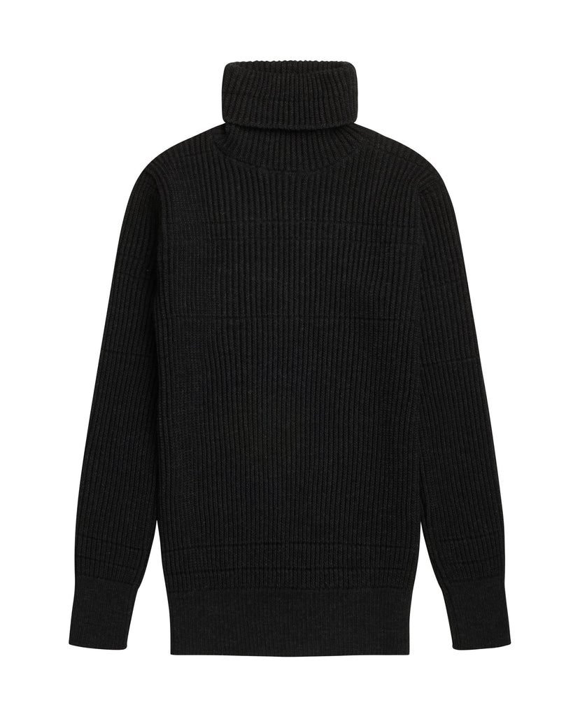 TONUS sweater<br>black melange