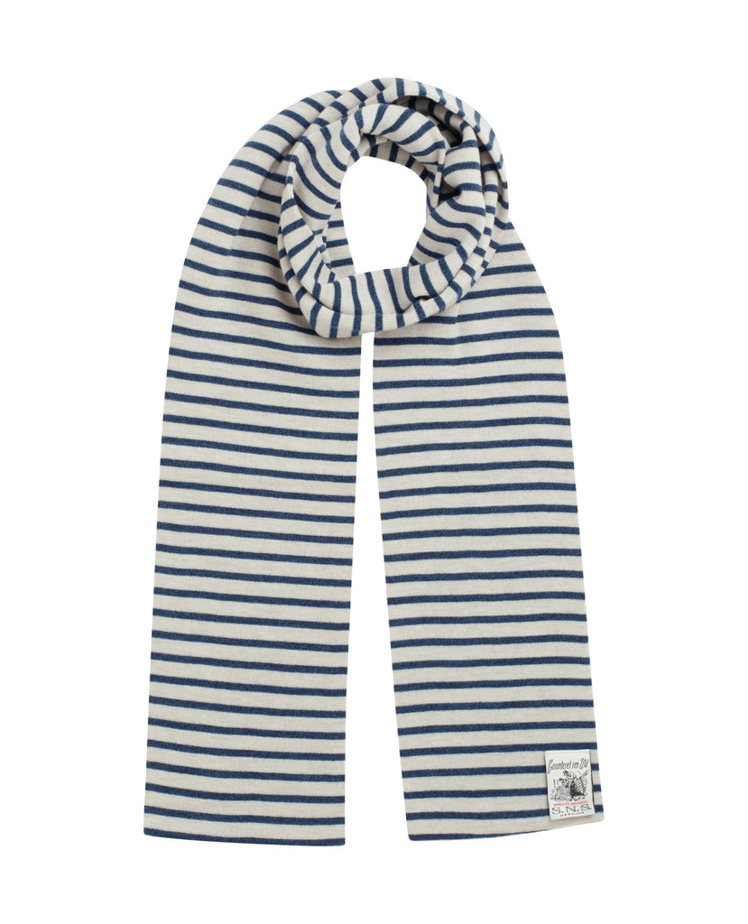 NAVAL scarf<br>silicium / blue static