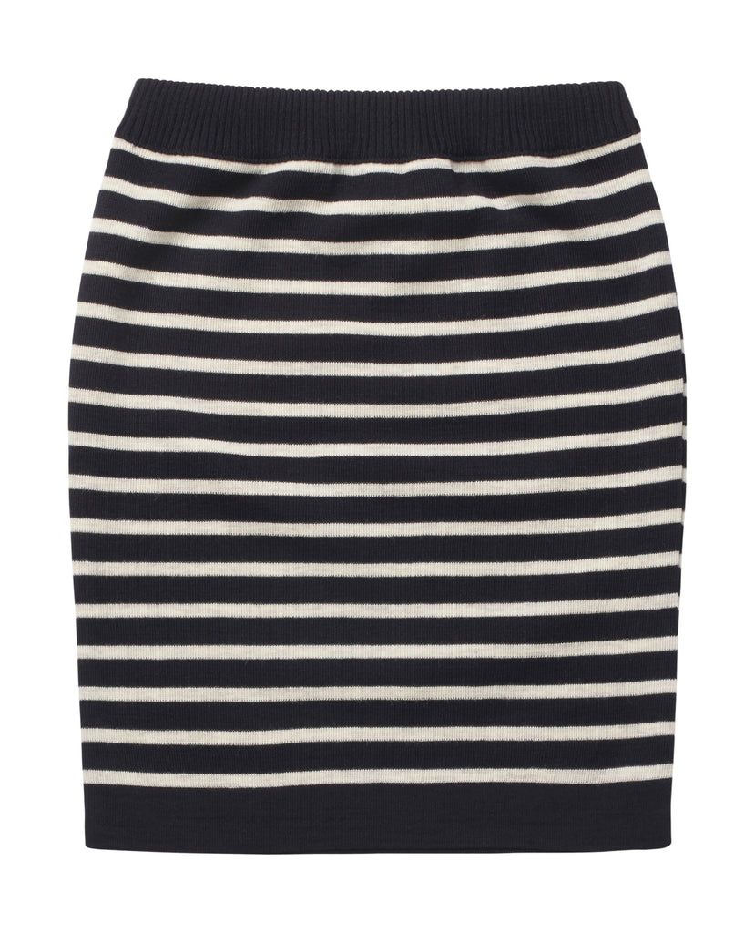NAVAL skirt<br>navy blue / raw