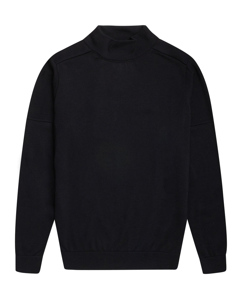 CIVIL sweater | høj hals<br>black [0] (M)
