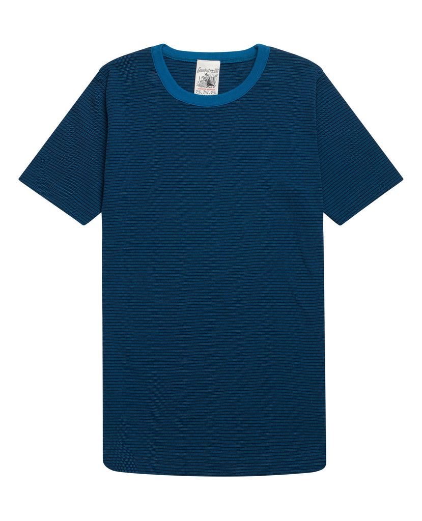 SNS Herning ,blue colour t shirt for men, 100 cotton t shirt, Danish design