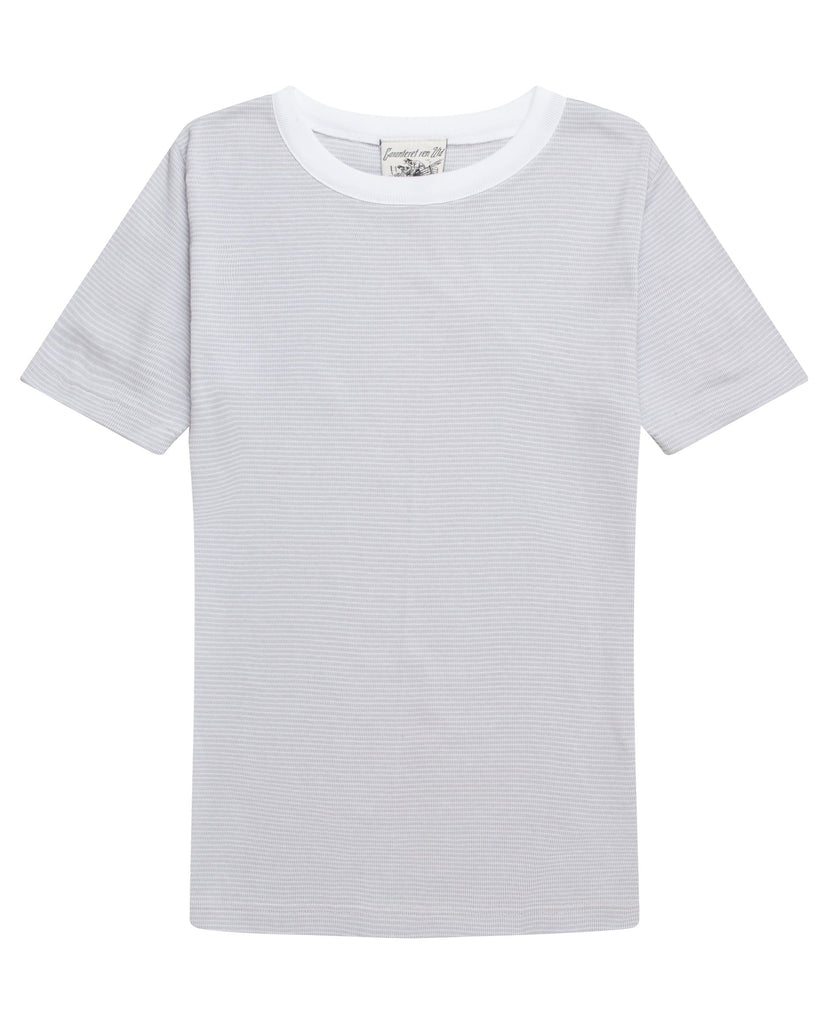 SNS Herning, grey t shirt for men, made out of cotton, Danish design