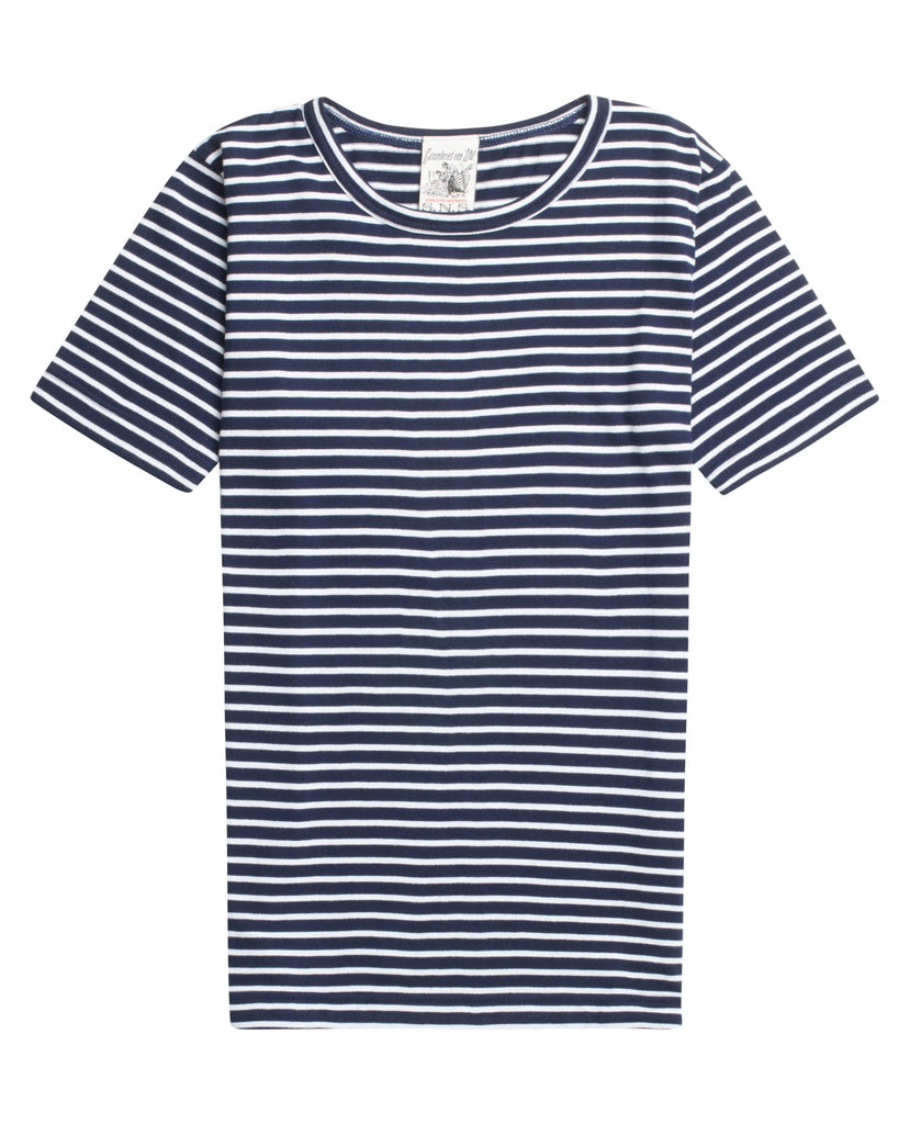 OBSERVER t-shirt<br>royal blue / pearl